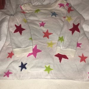 BabyGap 6-12 months star sweater dress